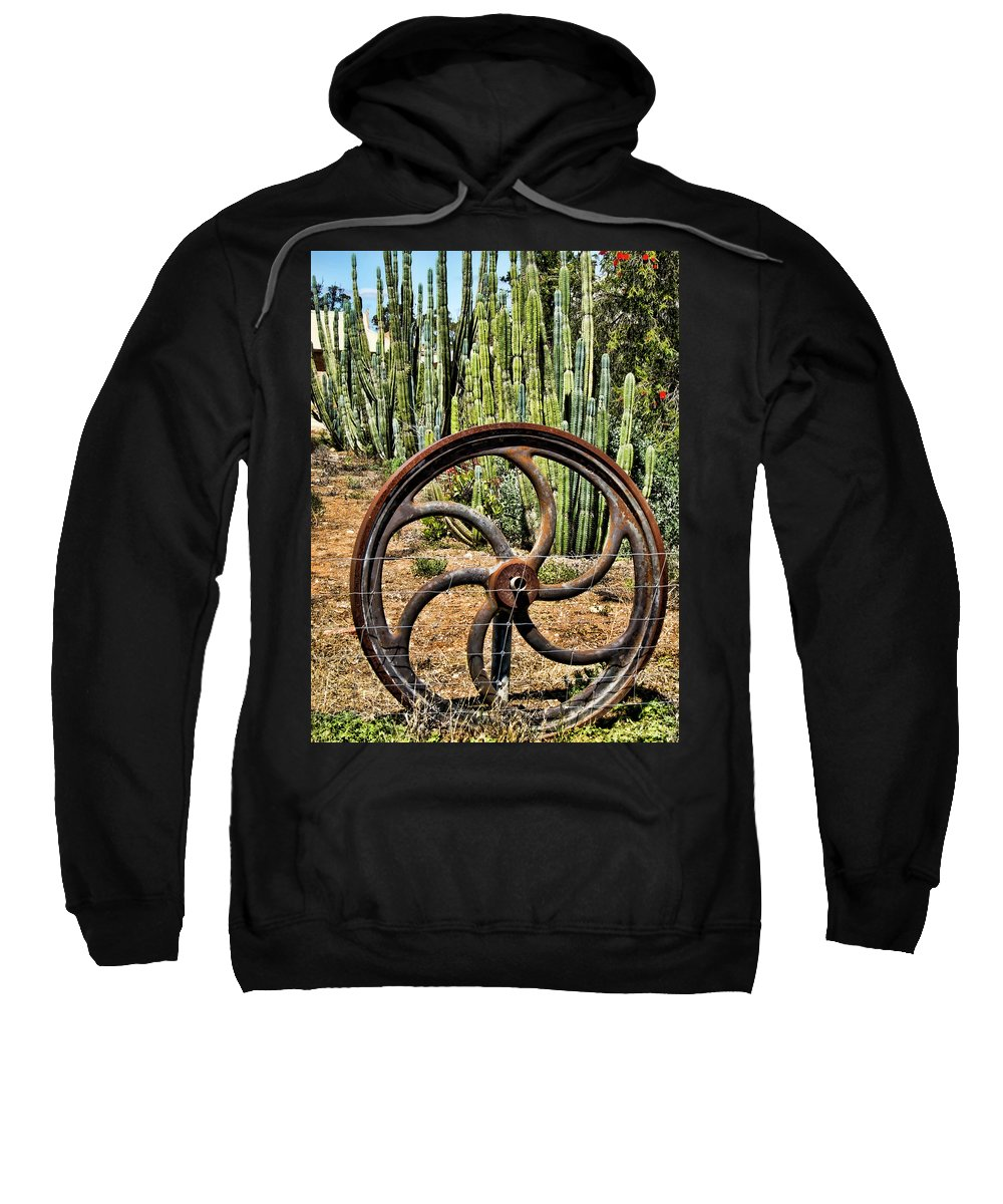 Wheel Sweatshirt featuring the photograph Reinvented by Douglas Barnard