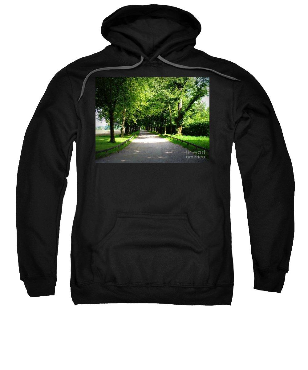 Lane Sweatshirt featuring the photograph Salzburg Lane by Carol Groenen
