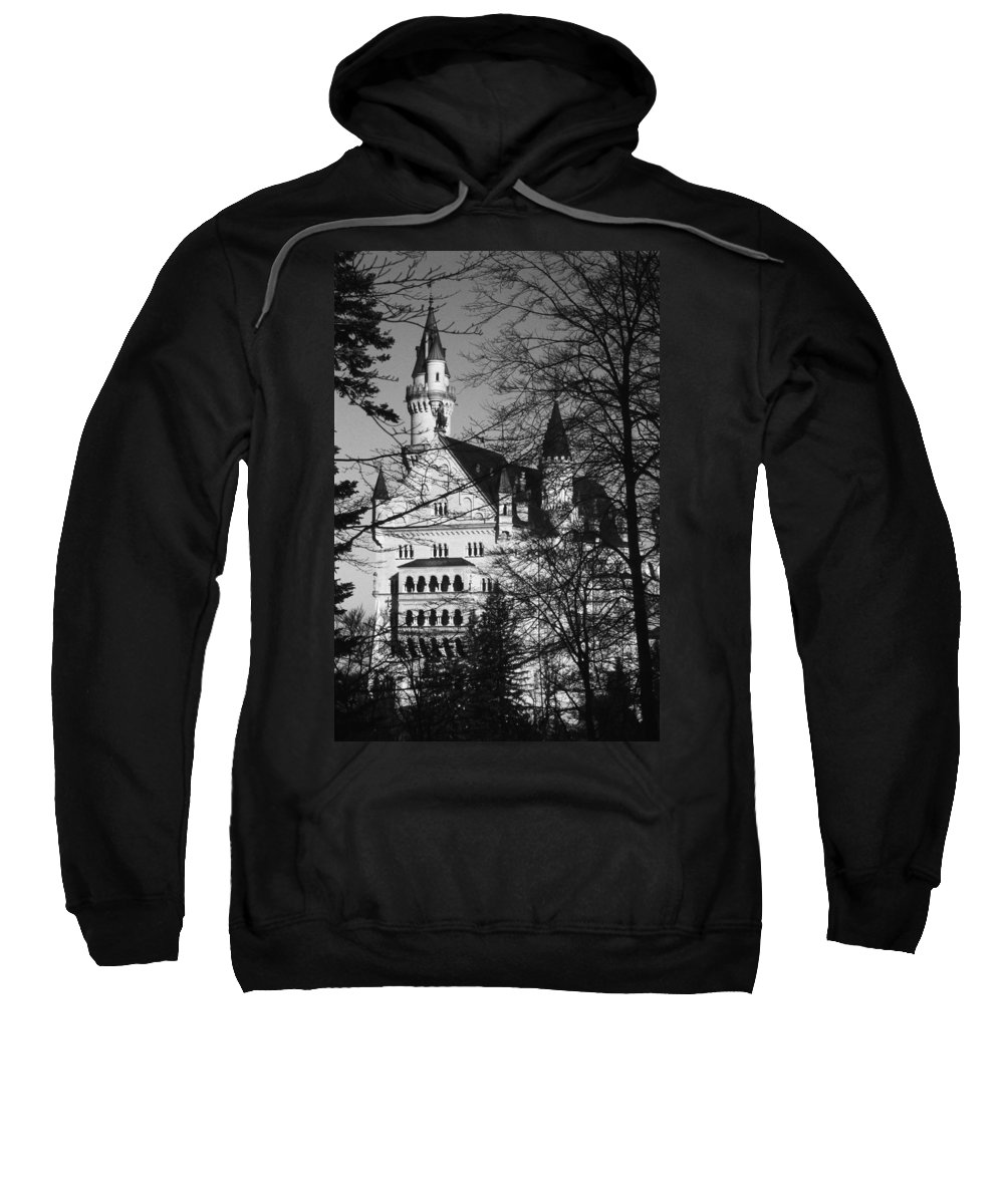Europe Sweatshirt featuring the photograph Schloss Neuschwanstein by Juergen Weiss