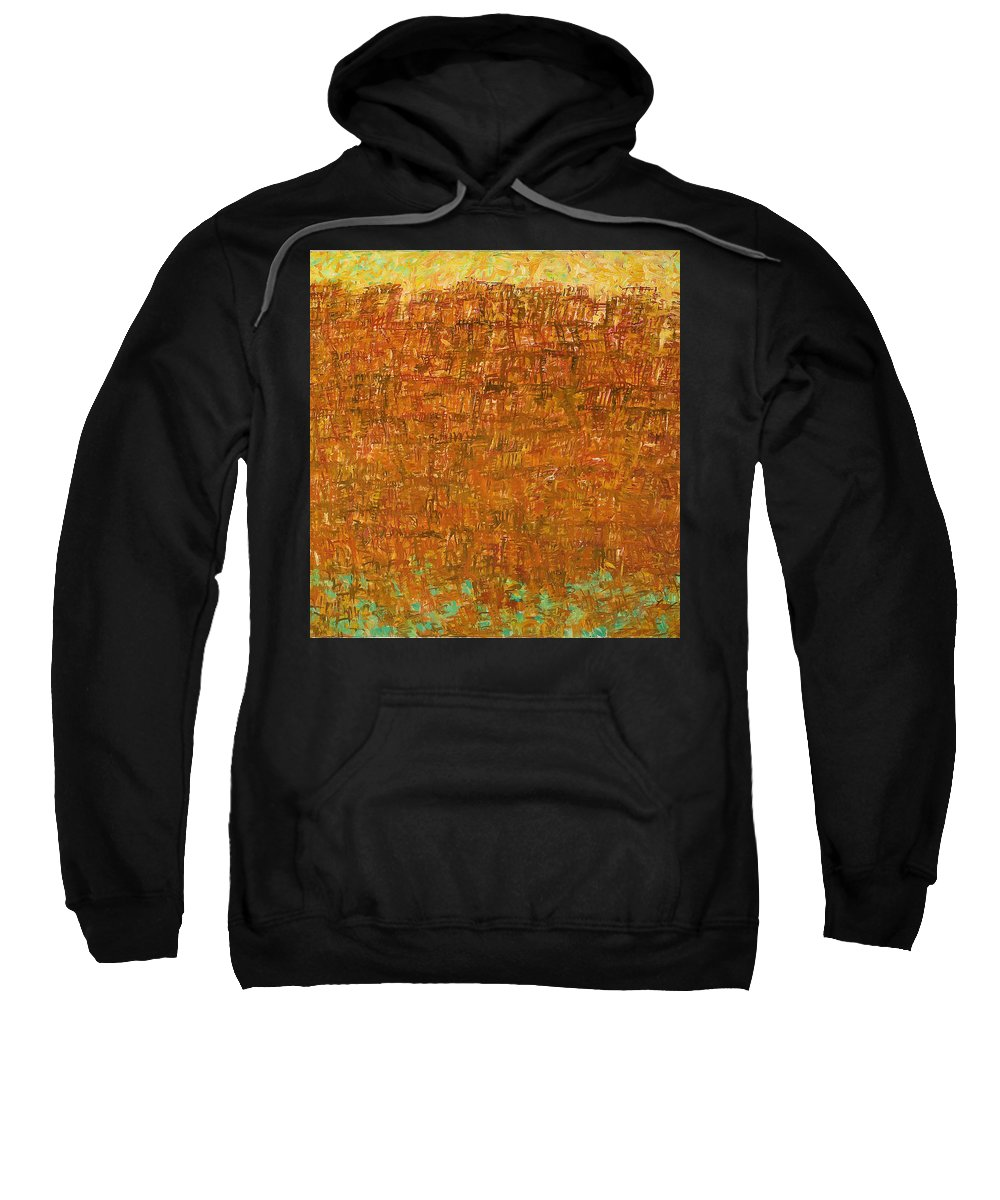 Ship Sweatshirt featuring the painting Ship by Robert Nizamov