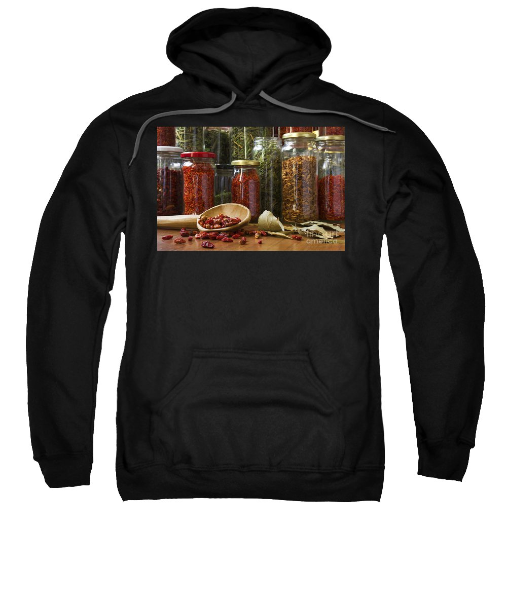 Aromatic Sweatshirt featuring the photograph Spicy Still Life by Carlos Caetano
