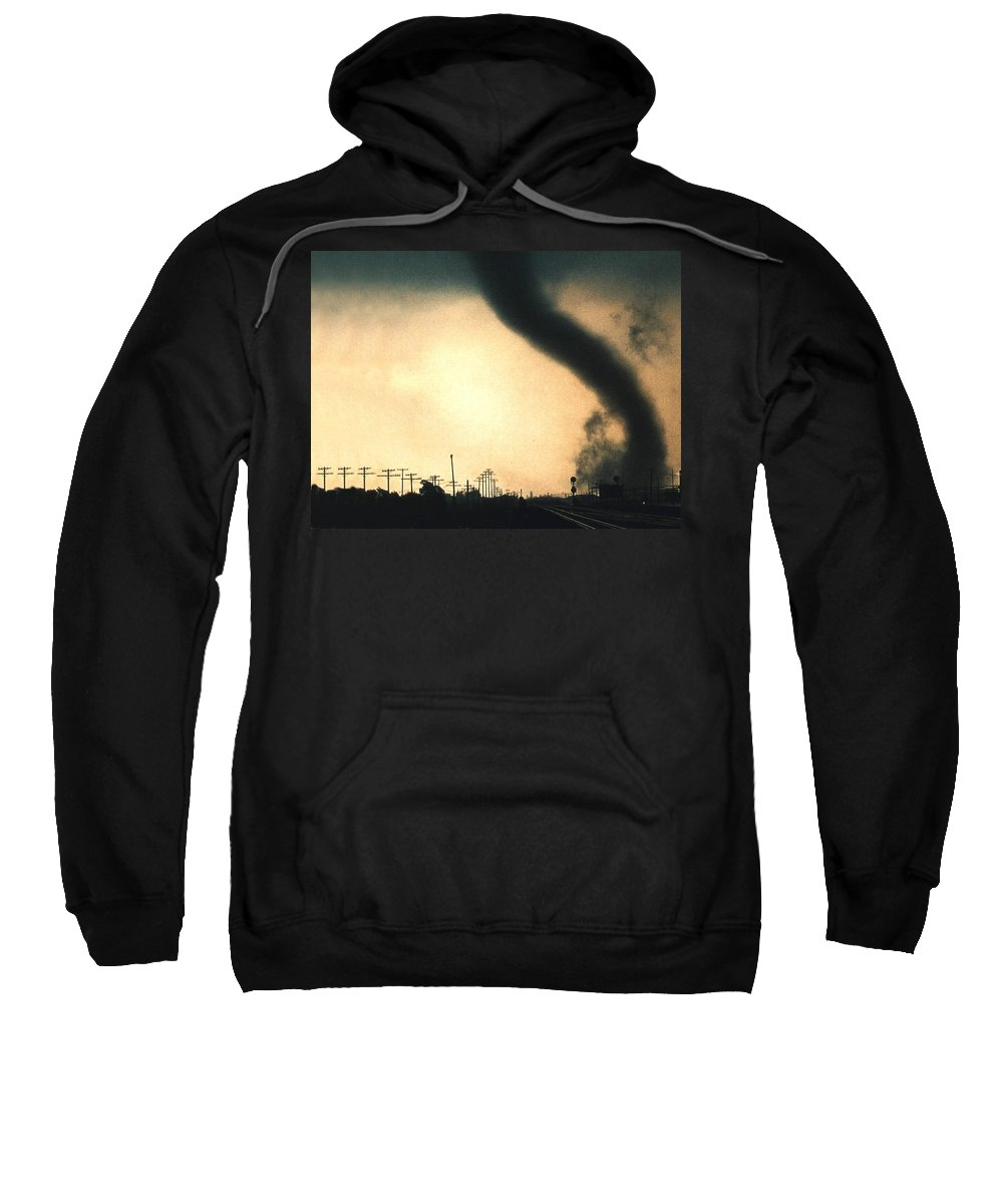 Storm Sweatshirt featuring the digital art Storm by Mery Moon