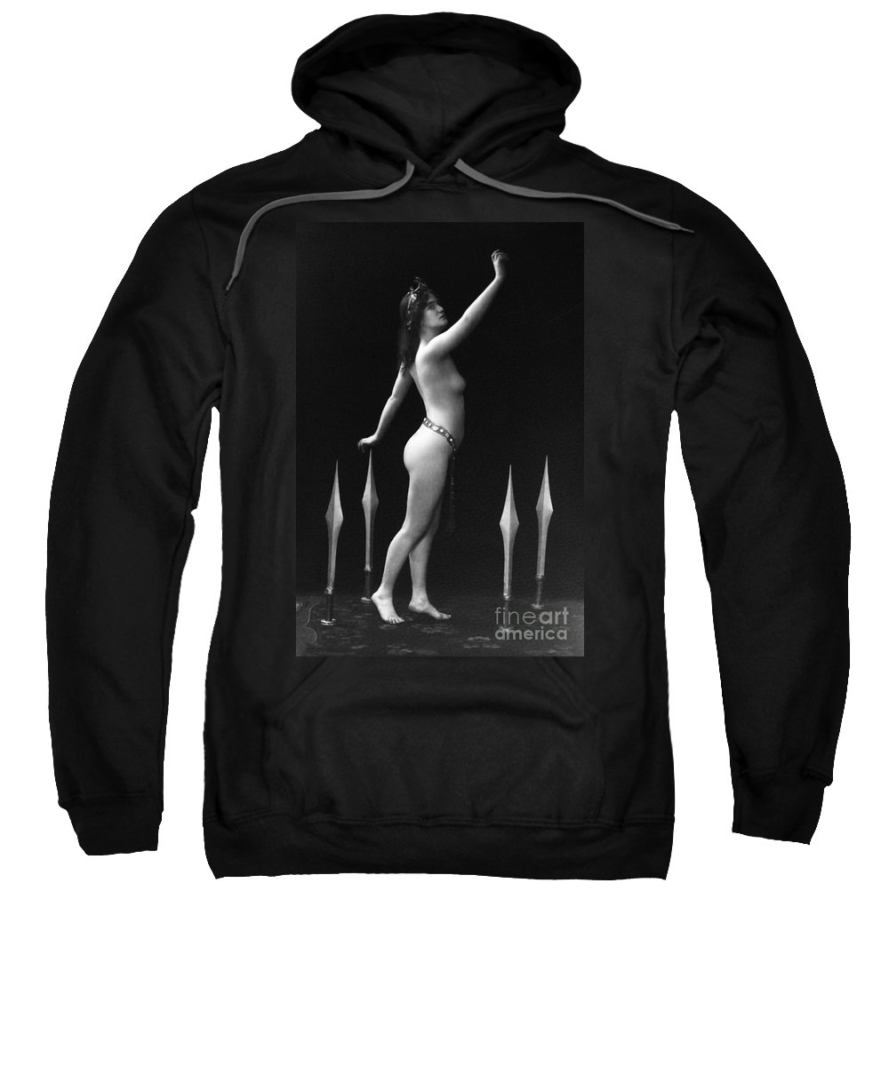 1920 Sweatshirt featuring the painting Sword Dance, C1920 by Granger