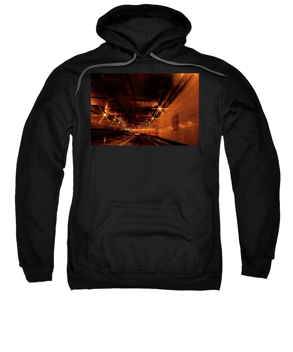 Recent Sweatshirt featuring the photograph Tunnel Vision by Geraldine Scull