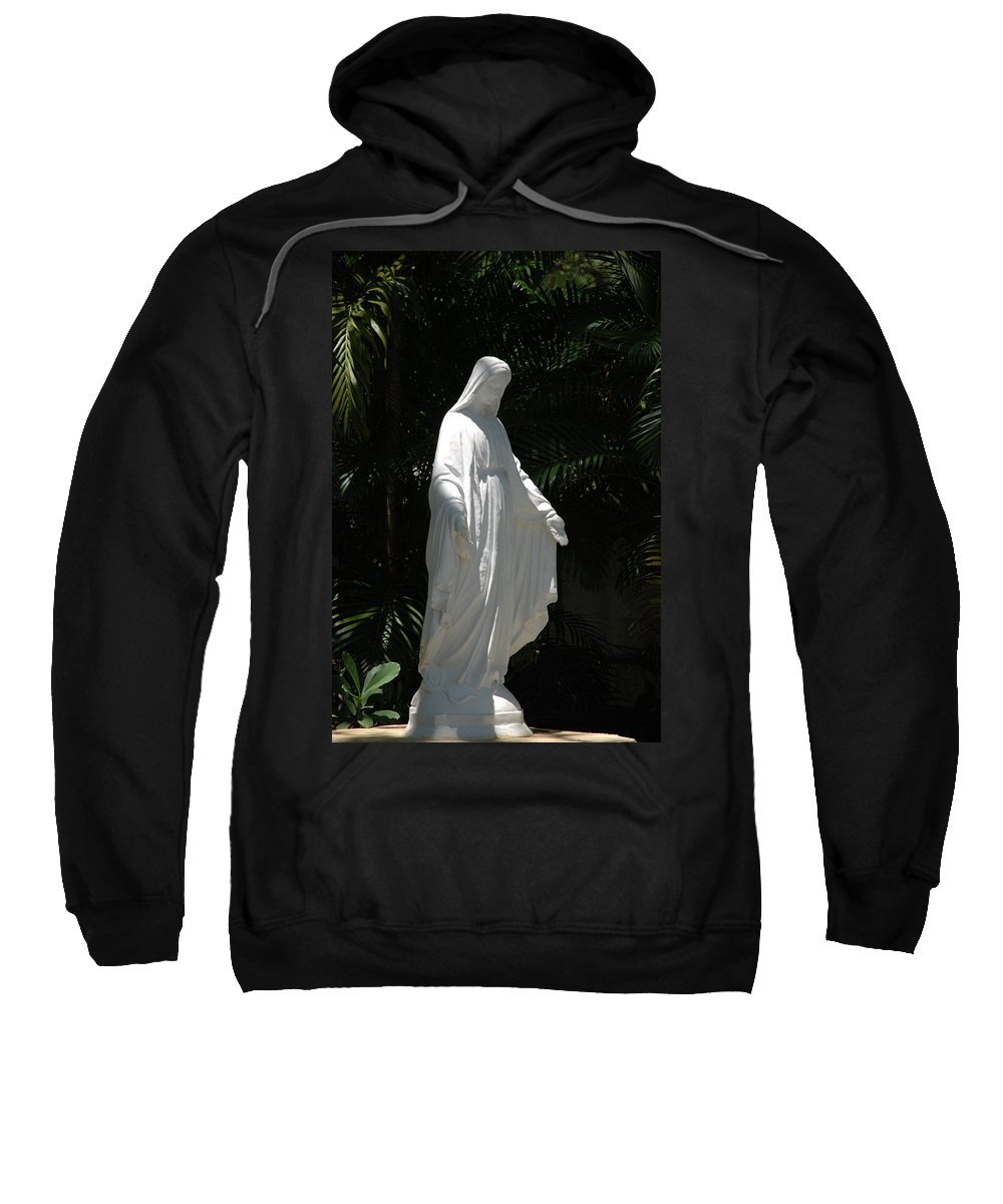Florida Sweatshirt featuring the photograph Virgin Mary by Rob Hans