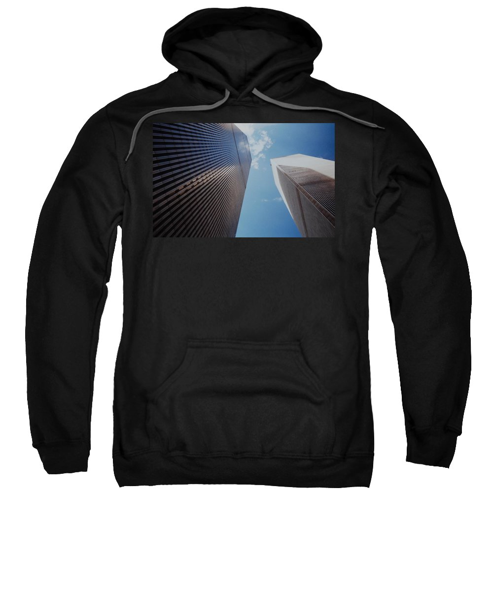 Wtc Sweatshirt featuring the photograph W T C 1 And 2 by Rob Hans
