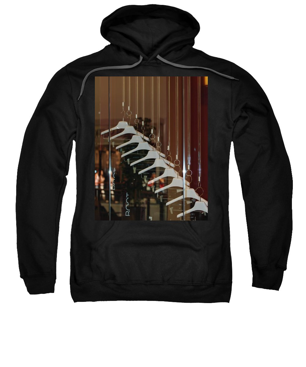 Hangers Sweatshirt featuring the photograph 10 Hangers by Rob Hans