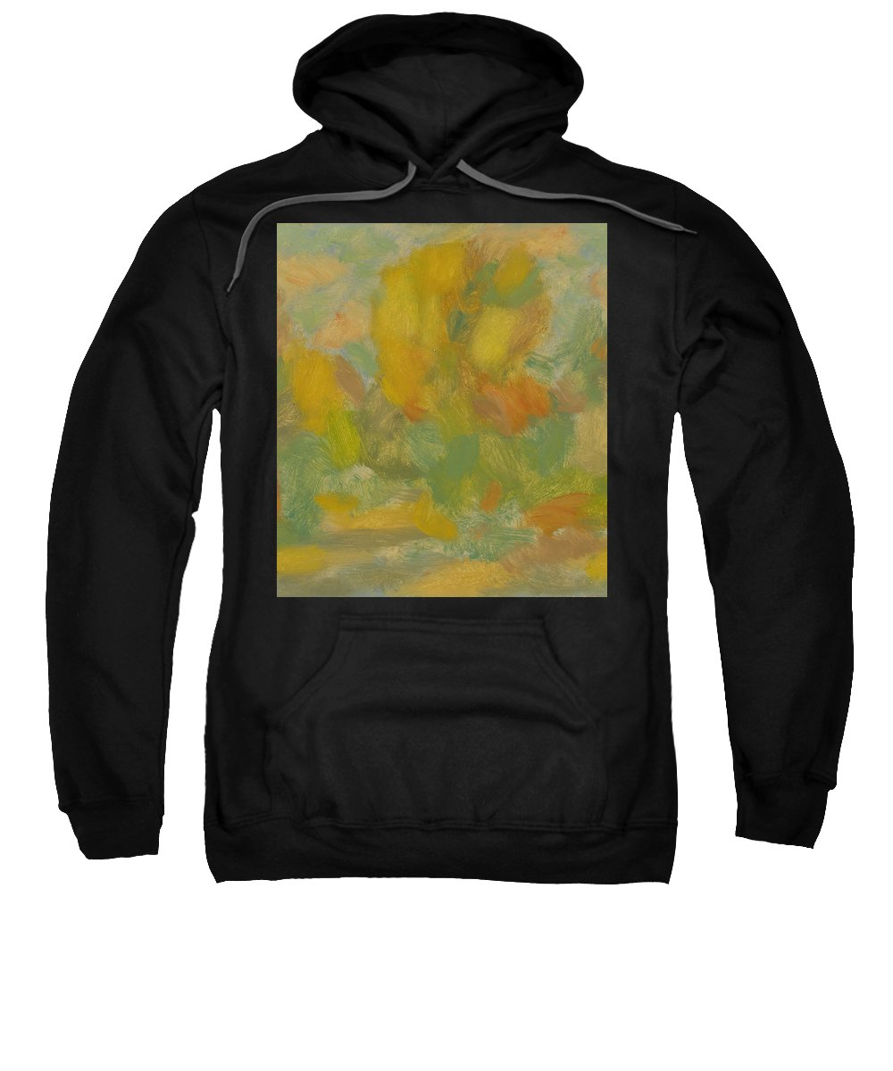 Street Sweatshirt featuring the painting Autumn by Robert Nizamov