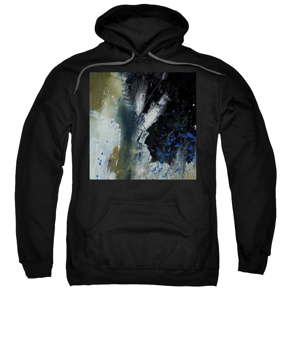 Abstract Sweatshirt featuring the painting 1237 by Pol Ledent