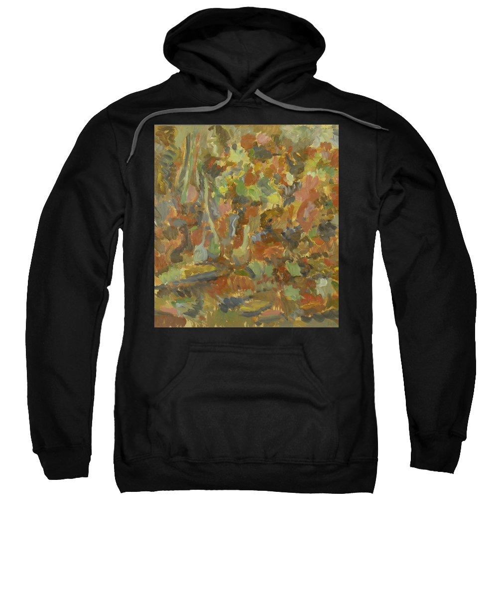 Apples Sweatshirt featuring the painting Still Life by Robert Nizamov