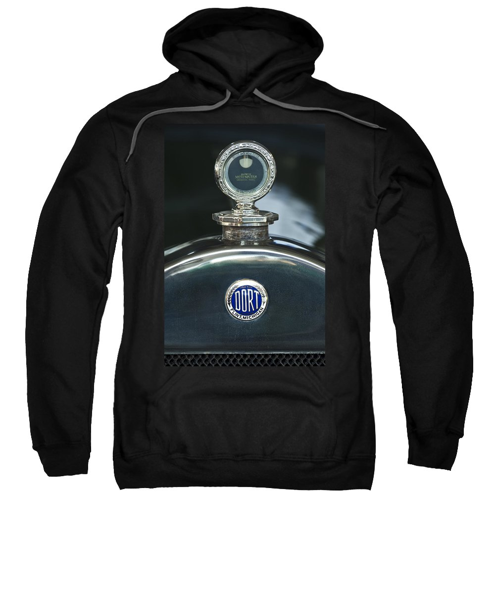1923 Dort Sport Sweatshirt featuring the photograph 1923 Dort Sport Hood Ornament by Jill Reger