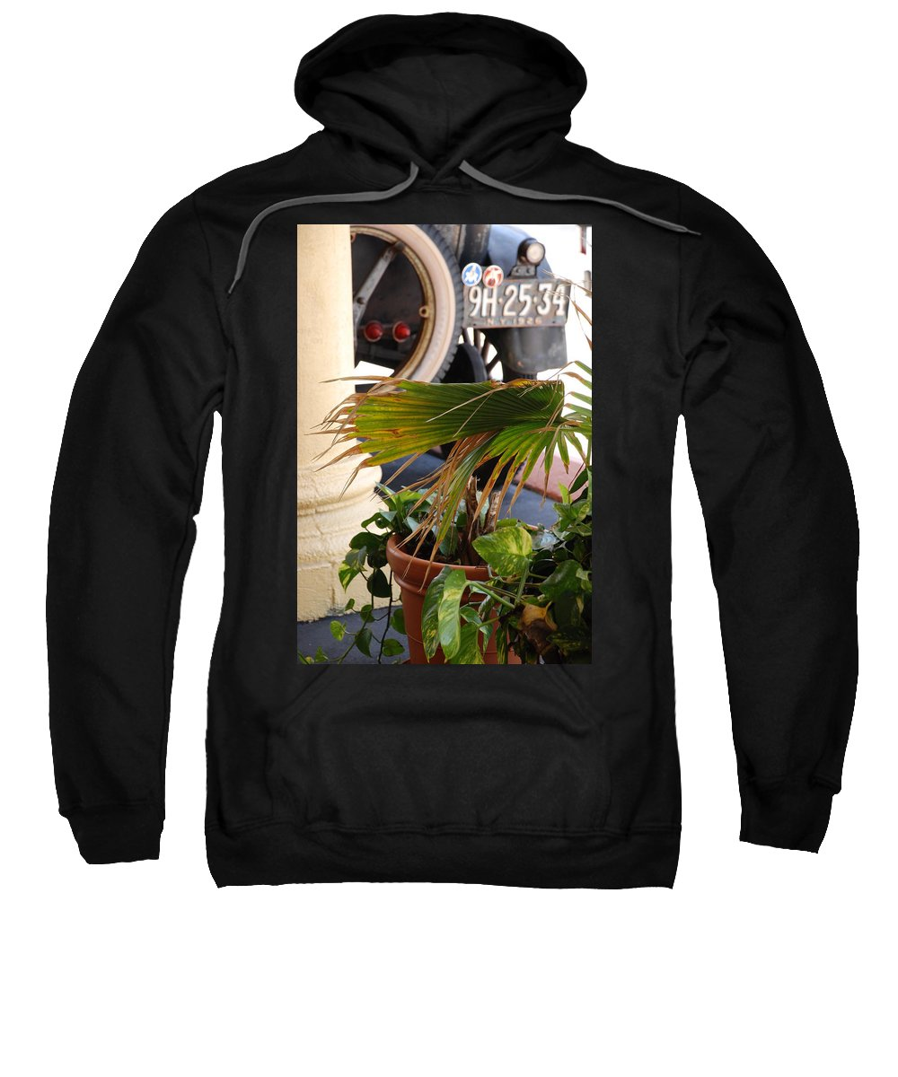 Ford Sweatshirt featuring the photograph 1926 Model T And Plants by Rob Hans