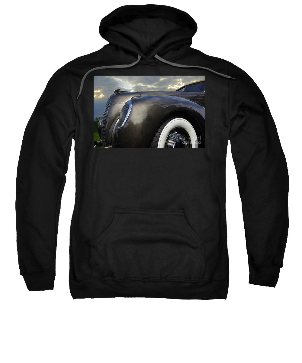 Lincoln Sweatshirt featuring the photograph 1938 Lincoln by Rich Walter