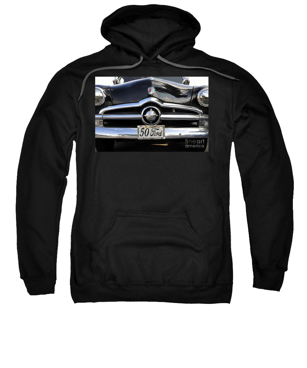 Ford Sweatshirt featuring the photograph 1950s Ford by David Lee Thompson