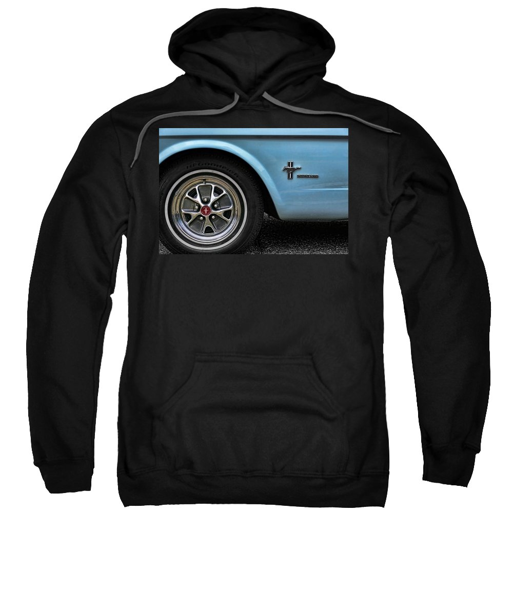 1964 Sweatshirt featuring the photograph 1964 Ford Mustang by Gordon Dean II