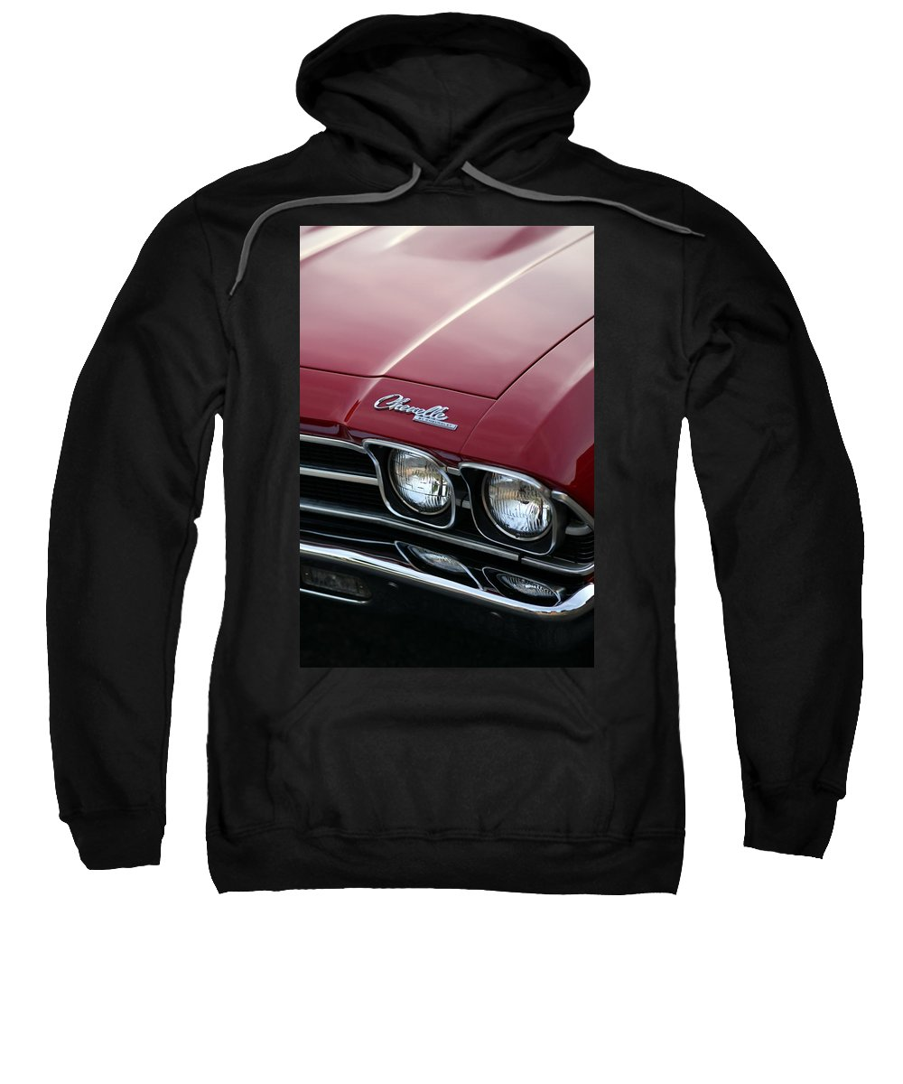1967 Sweatshirt featuring the photograph 1968 Chevy Chevelle Ss by Gordon Dean II
