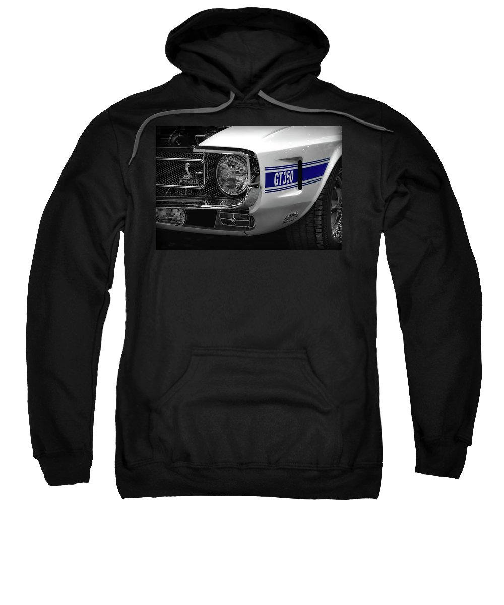 1970 Sweatshirt featuring the photograph 1969 Ford Mustang Shelby Gt350 1970 by Gordon Dean II