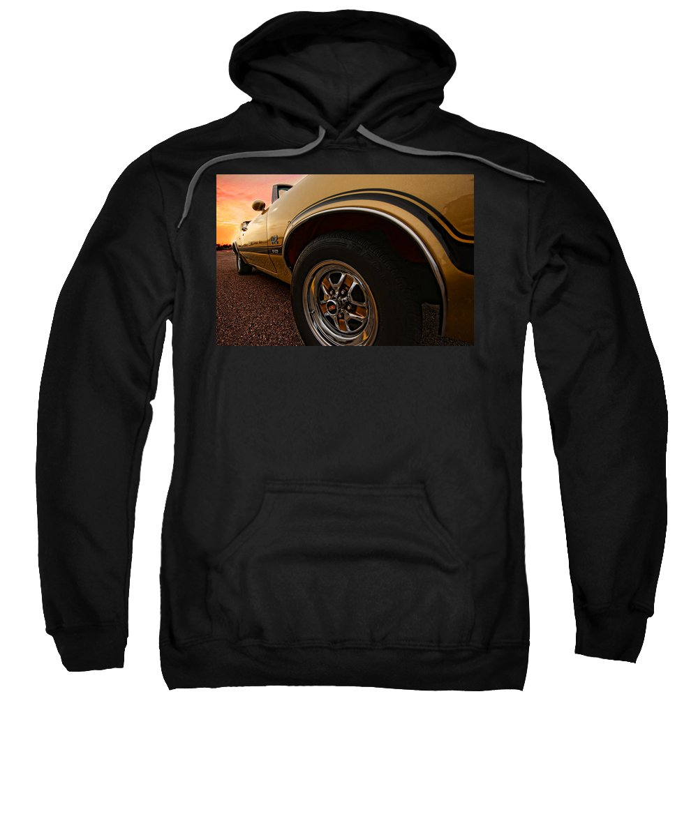 Oldsmobile Sweatshirt featuring the photograph 1970 Oldsmobile Cutlass 4-4-2 W-30 by Gordon Dean II