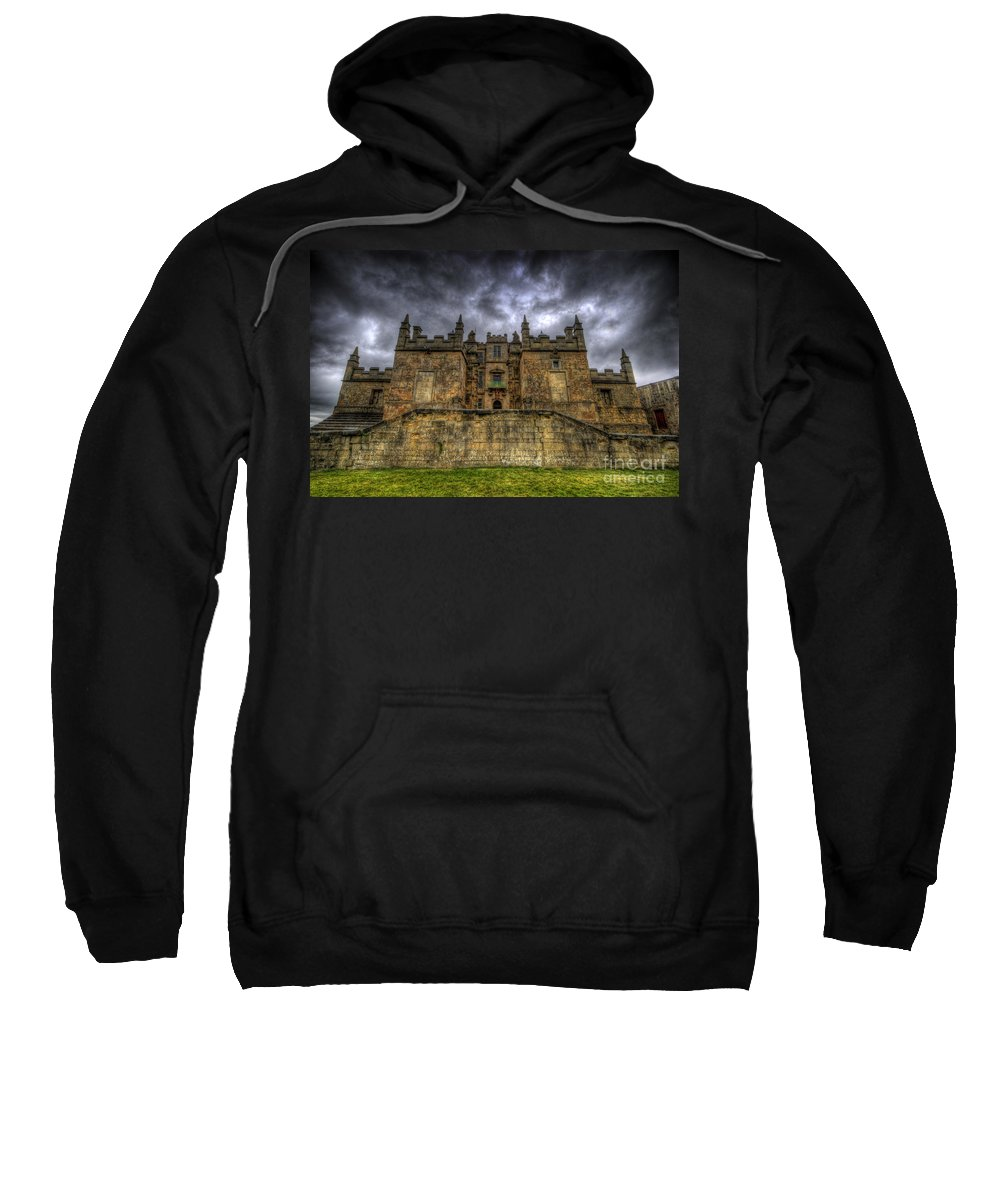 Bolsover Castle Sweatshirt featuring the photograph Bolsover Castle by Yhun Suarez