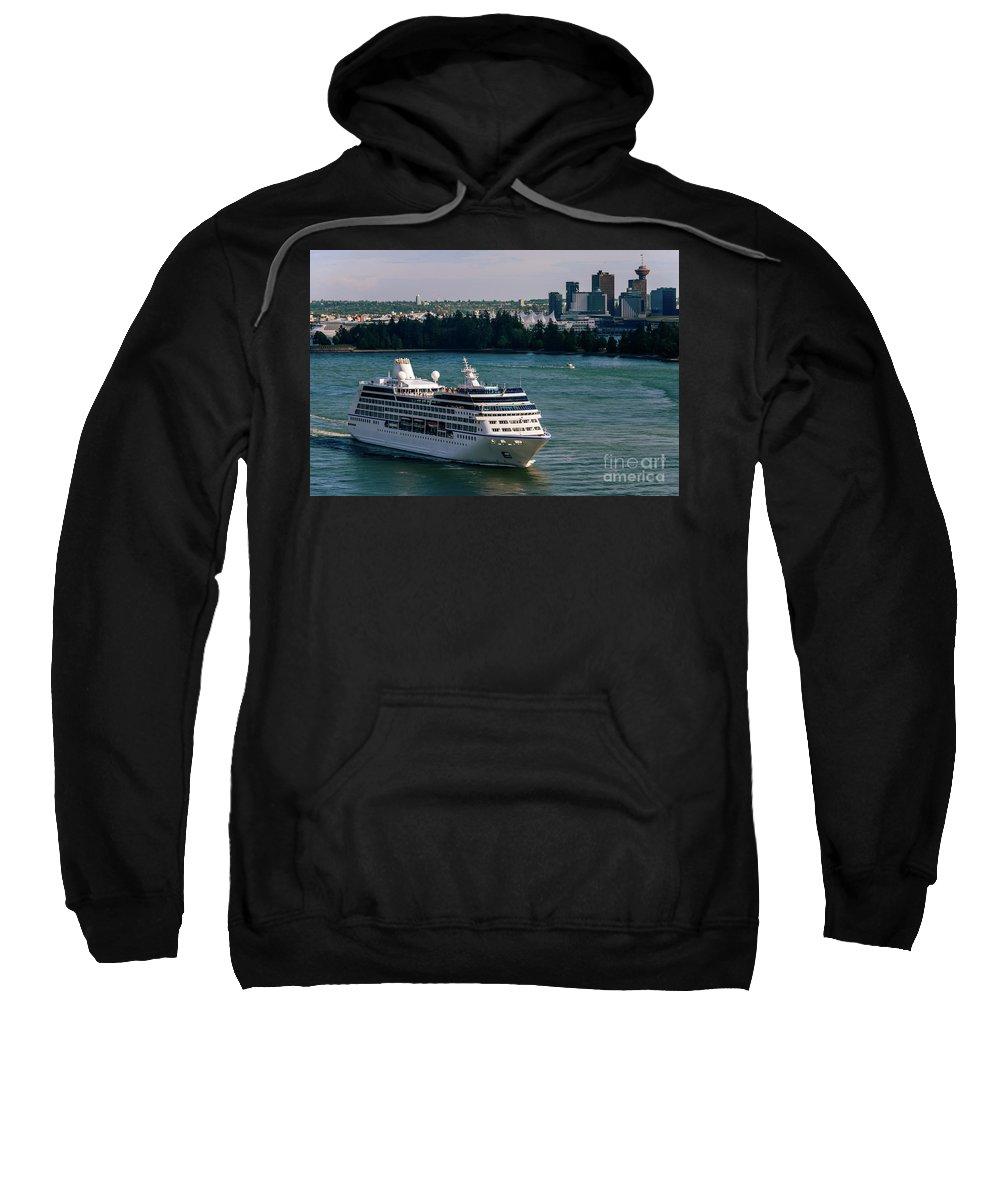 Cruise Ship Sweatshirt featuring the photograph Cruise Ship 4 by Viktor Birkus