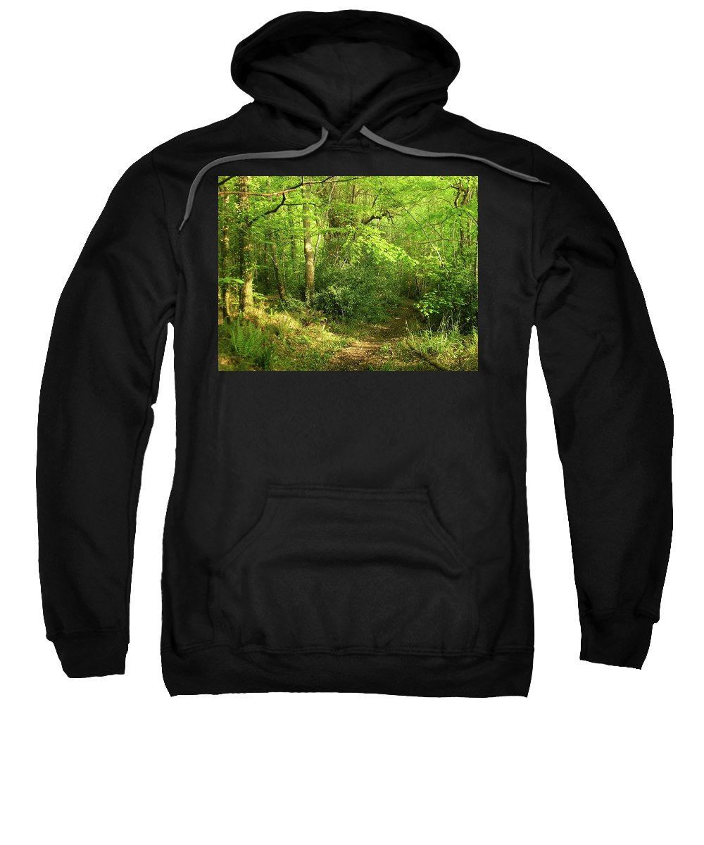 Landscape Sweatshirt featuring the photograph Hazelwood Co Sligo Ireland by Louise Macarthur Art and Photography