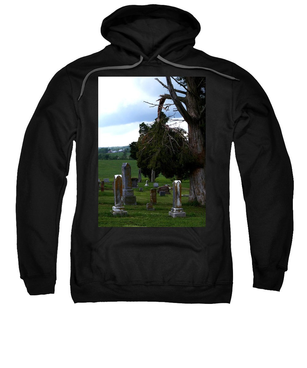 Landscape Sweatshirt featuring the photograph Heroes Of Olmsted by Rachel Christine Nowicki