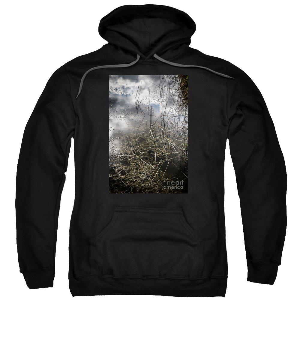 Morikami Gardens Sweatshirt featuring the photograph Morikami Gardens by Richard Smukler