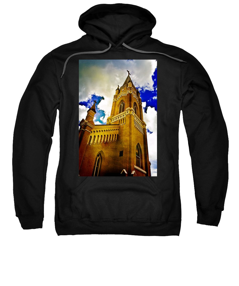 Church Sweatshirt featuring the photograph Reaching For The Heavens by Scott Pellegrin