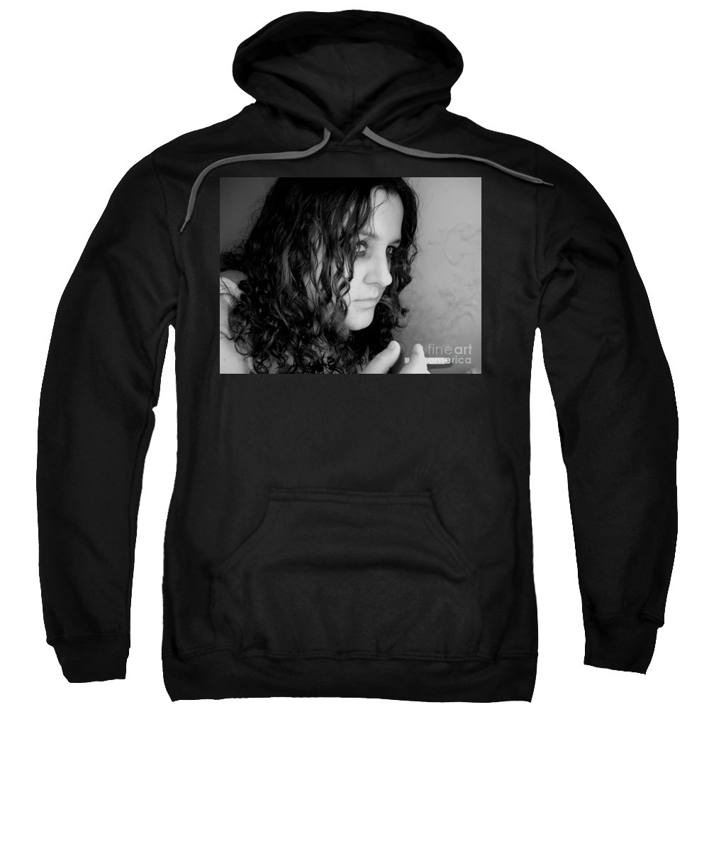 Ciggerette Sweatshirt featuring the photograph Untitiled by Meghann Brunney