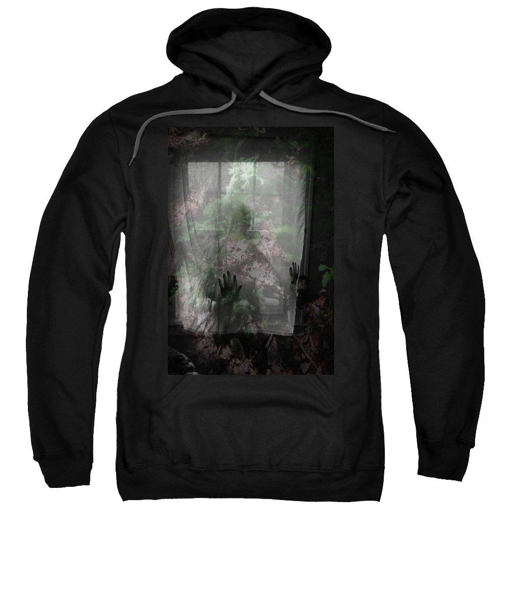Nudes Sweatshirt featuring the photograph Window Wonder by Trish Hale