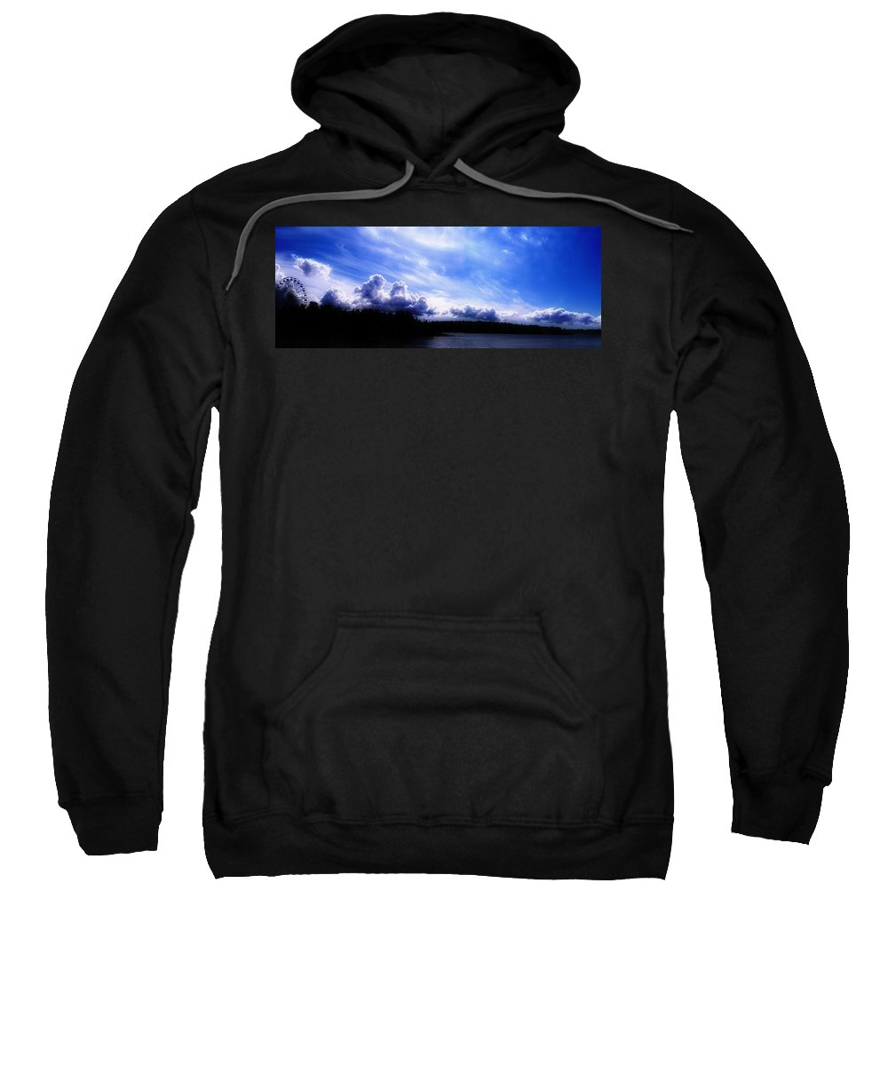 Earth Sweatshirt featuring the digital art Earth by Mery Moon