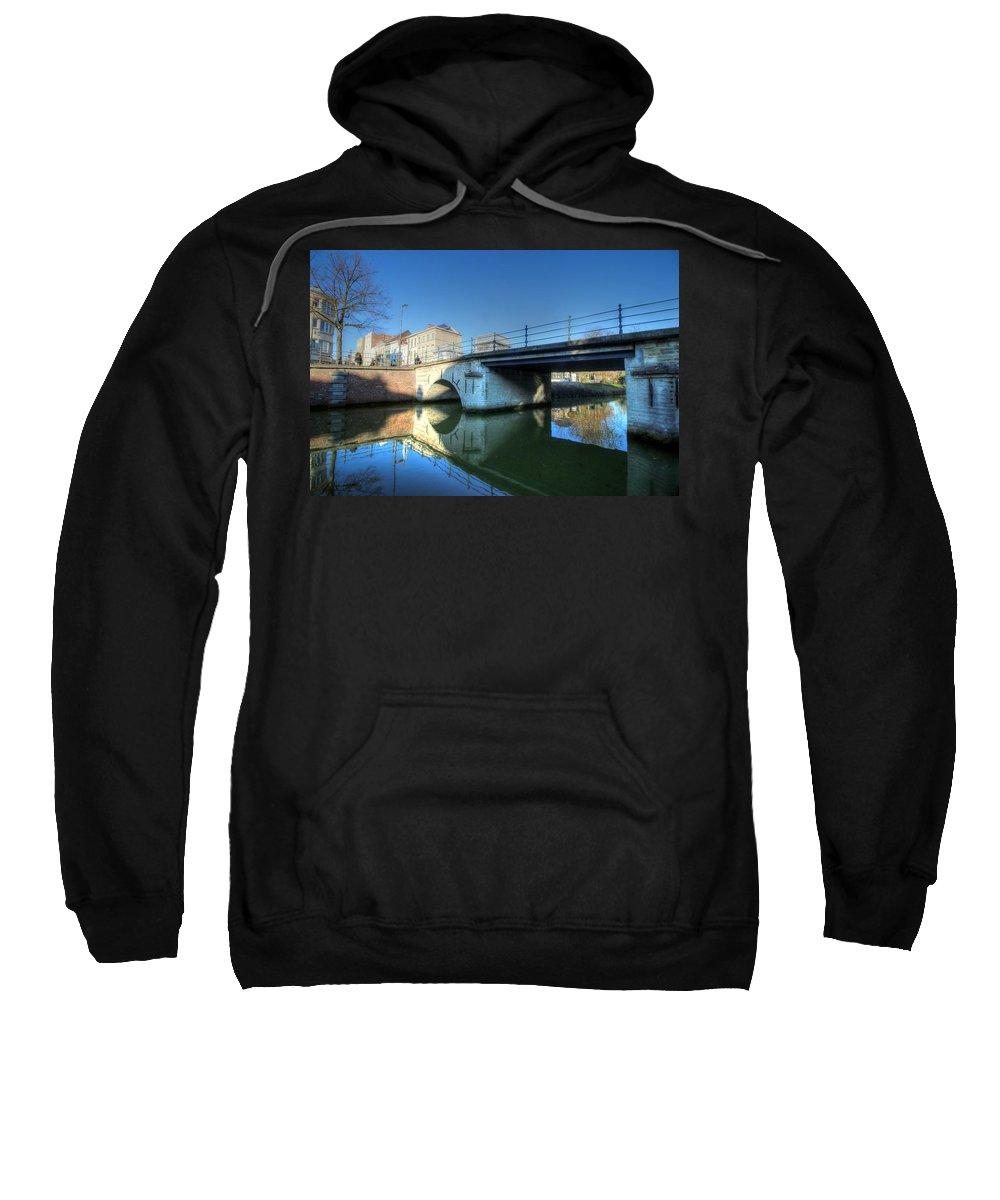 Mechelen Belgium Sweatshirt featuring the photograph Mechelen Belgium by Paul James Bannerman