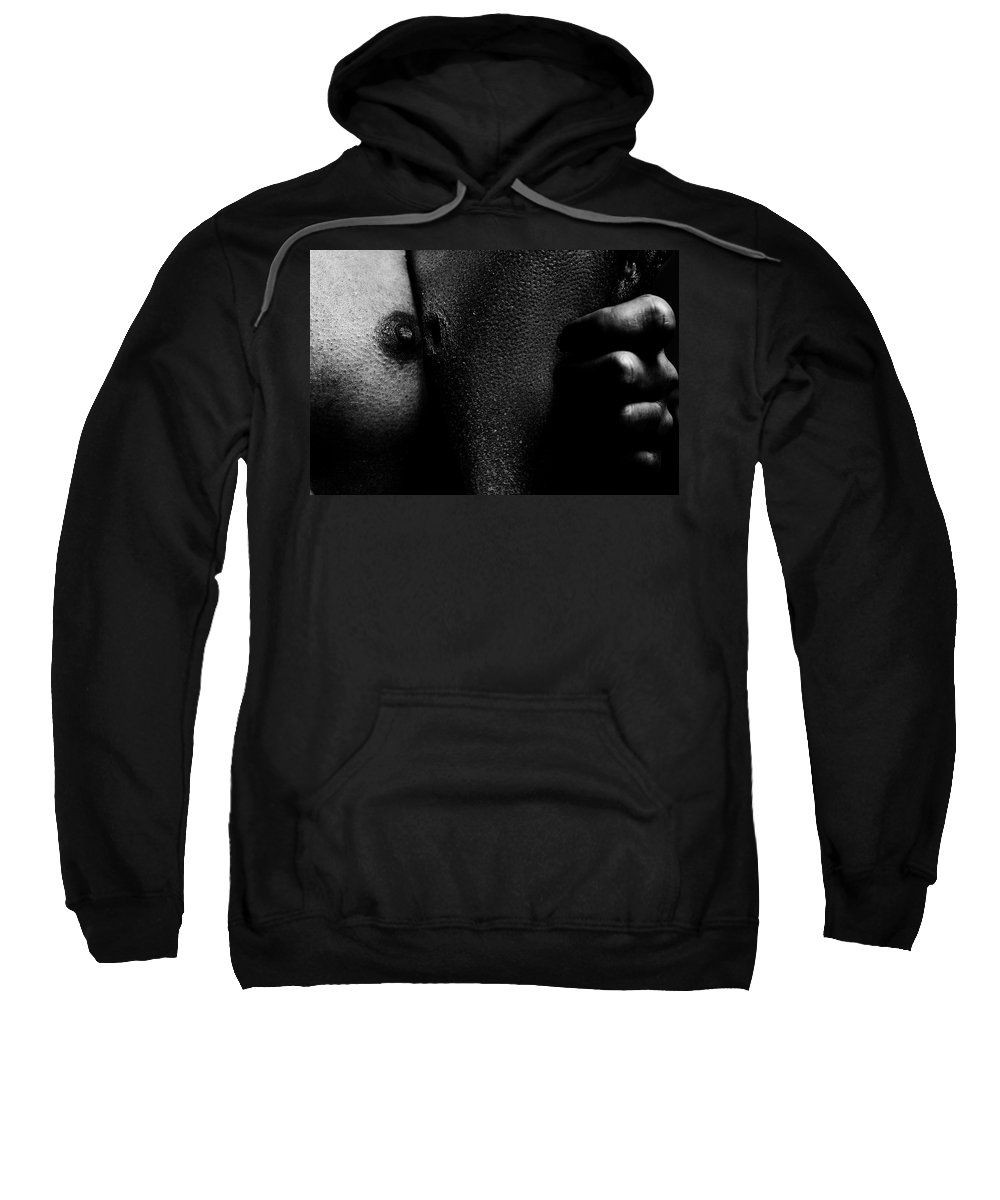 Nude Sweatshirt featuring the photograph 2nd Skin by Pavel Jelinek