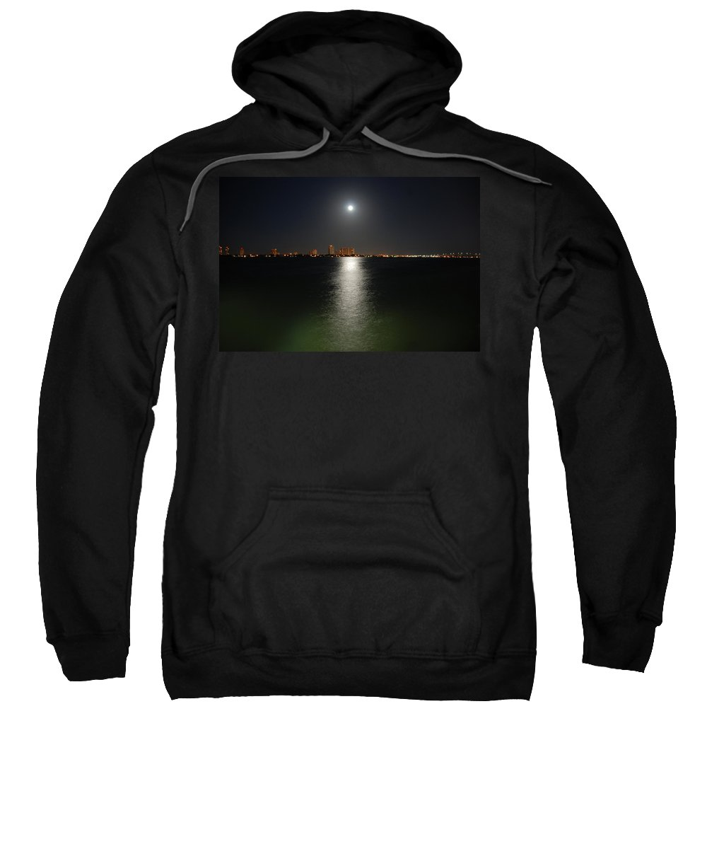 Moon Sweatshirt featuring the photograph 3- Reflections by Joseph Keane