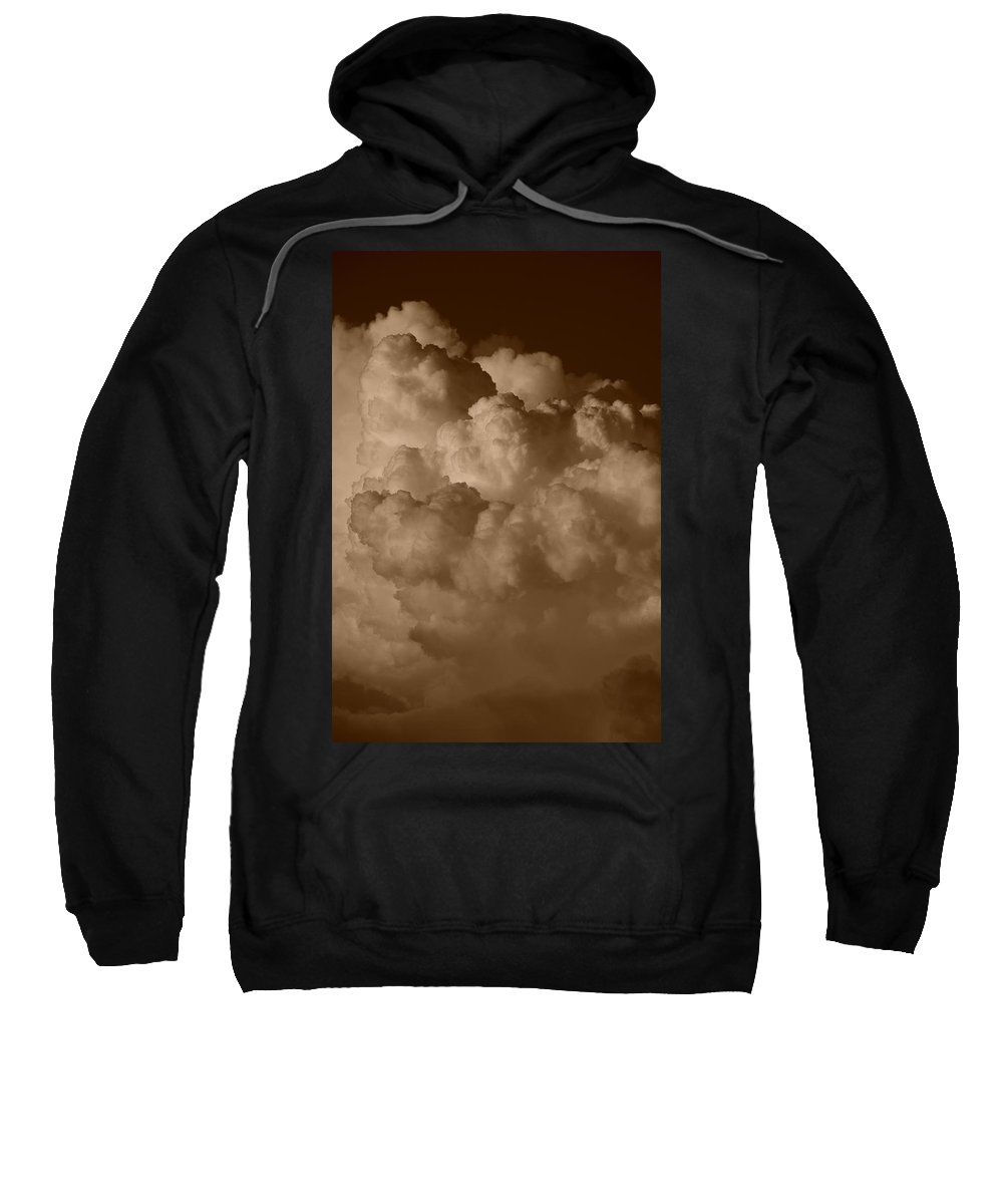 Sepia Sweatshirt featuring the photograph Sepia Clouds by Rob Hans