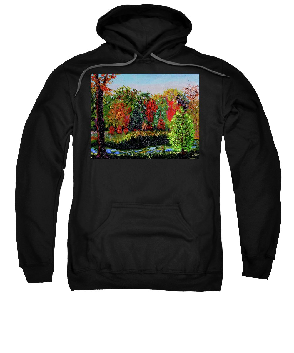 Plein Air Sweatshirt featuring the painting Sewp 10 10 by Stan Hamilton