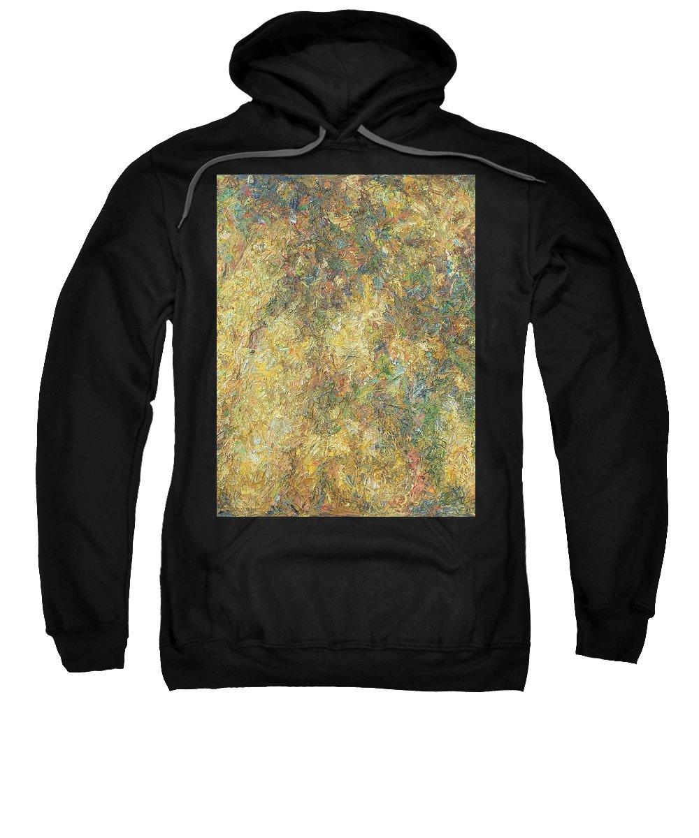 Shade Sweatshirt featuring the painting Autumn by Robert Nizamov