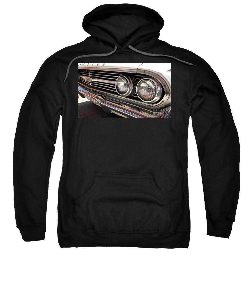 Cars Sweatshirt featuring the photograph Biscayne by Amanda Barcon