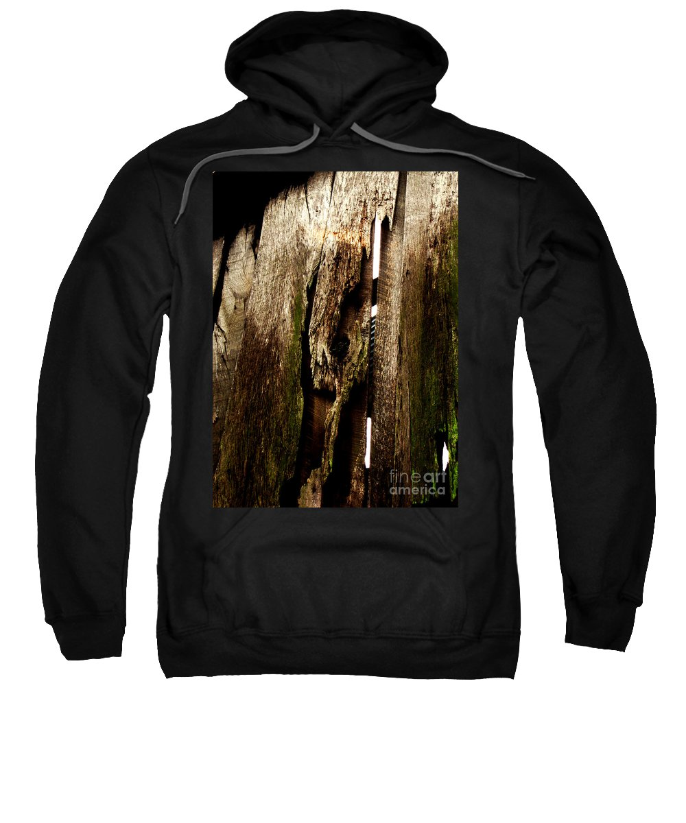 Texture Sweatshirt featuring the photograph Texture Series by Amanda Barcon