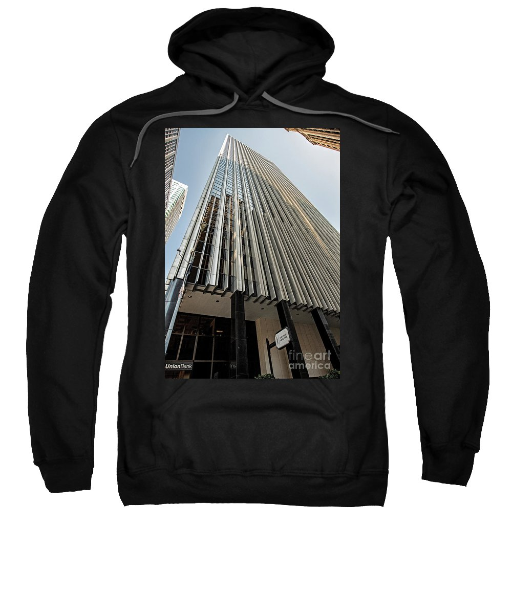 44 Montgomery Sweatshirt featuring the photograph 44 Montgomery Building In San Francisco, California by David Oppenheimer