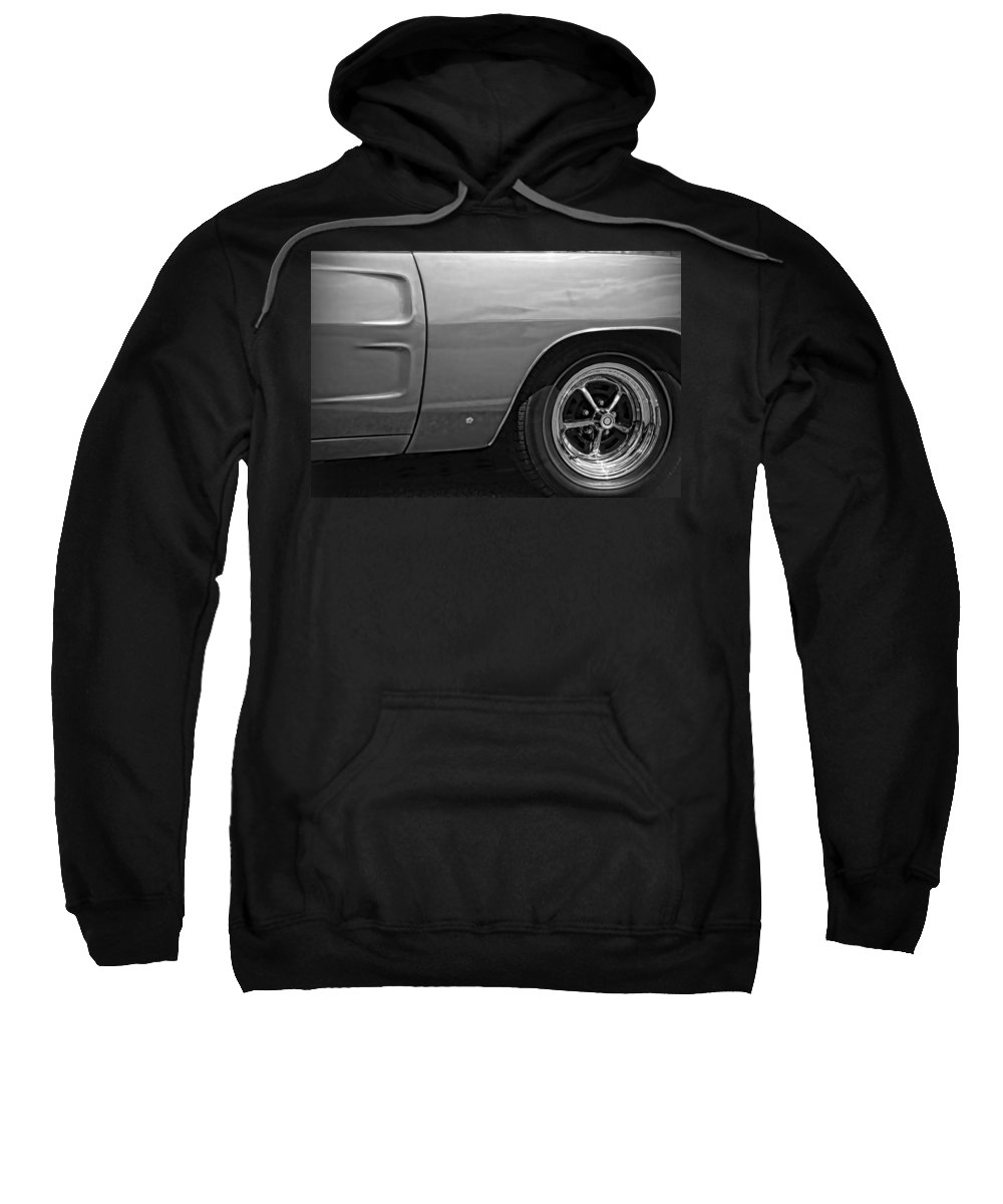 1968 Sweatshirt featuring the photograph '68 Charger by Gordon Dean II