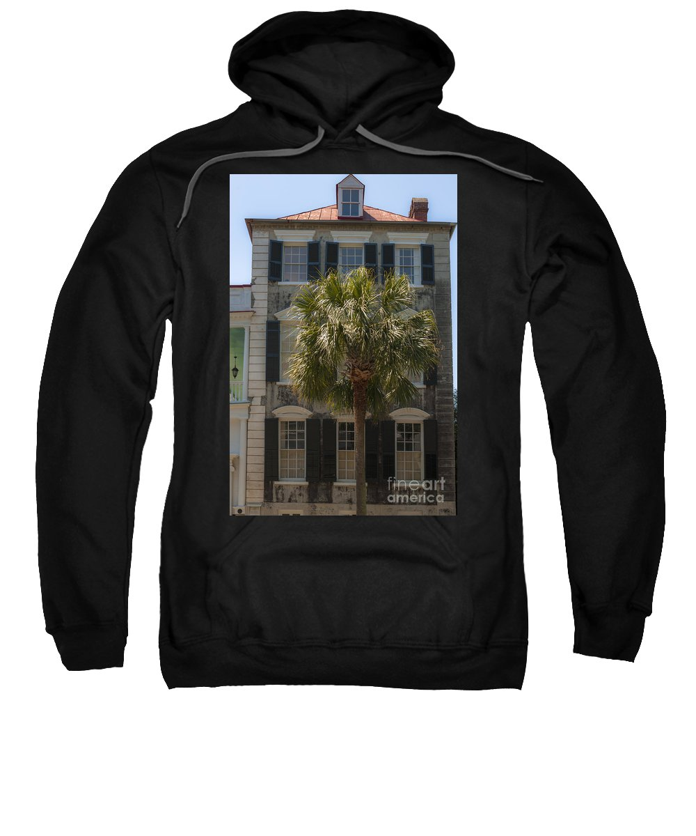 69 Meeting Street Sweatshirt featuring the photograph 69 Meeting Street by Dale Powell