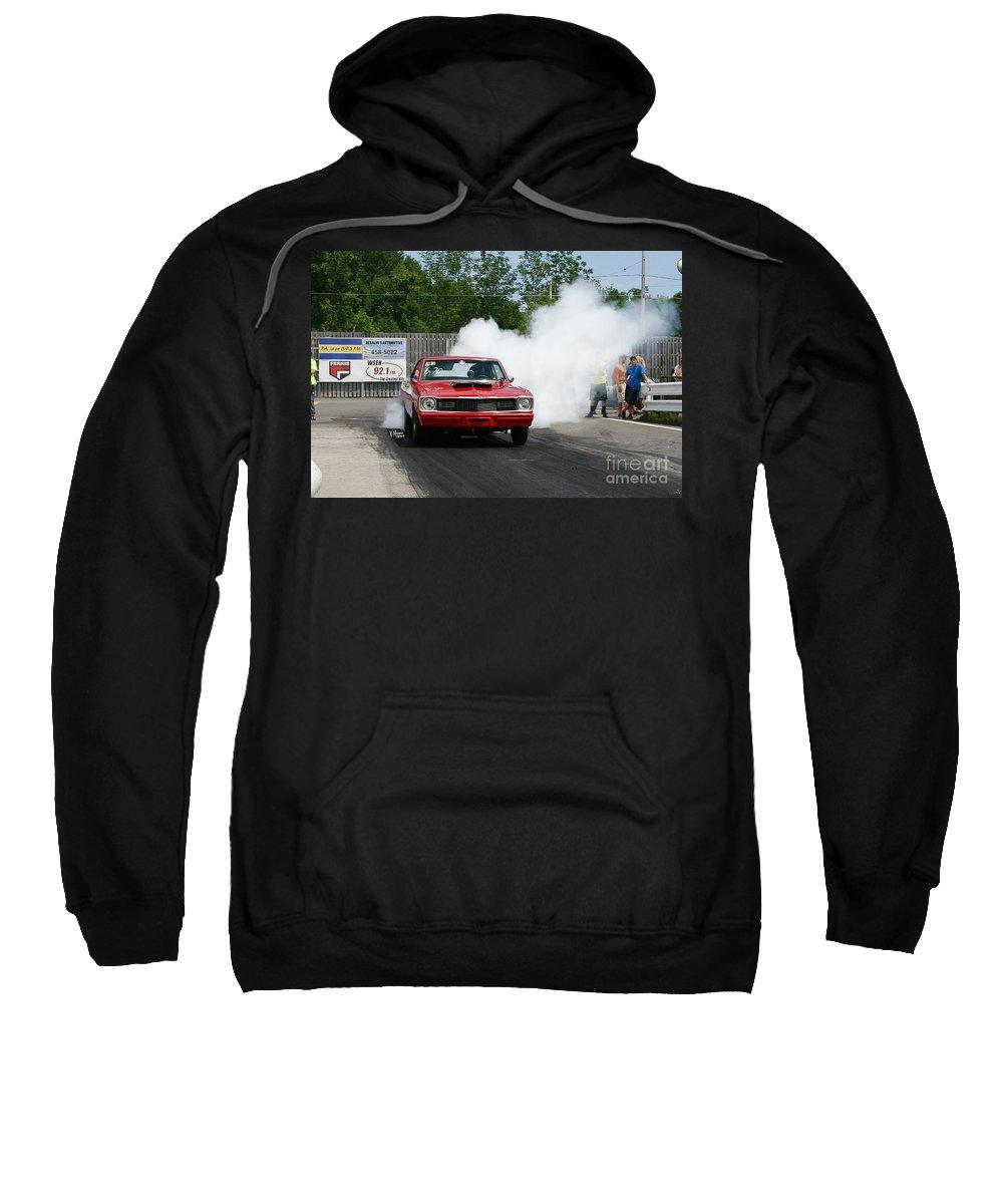 06-15-2015 Sweatshirt featuring the photograph 8696 06-15-2015 Esta Safety Park by Vicki Hopper