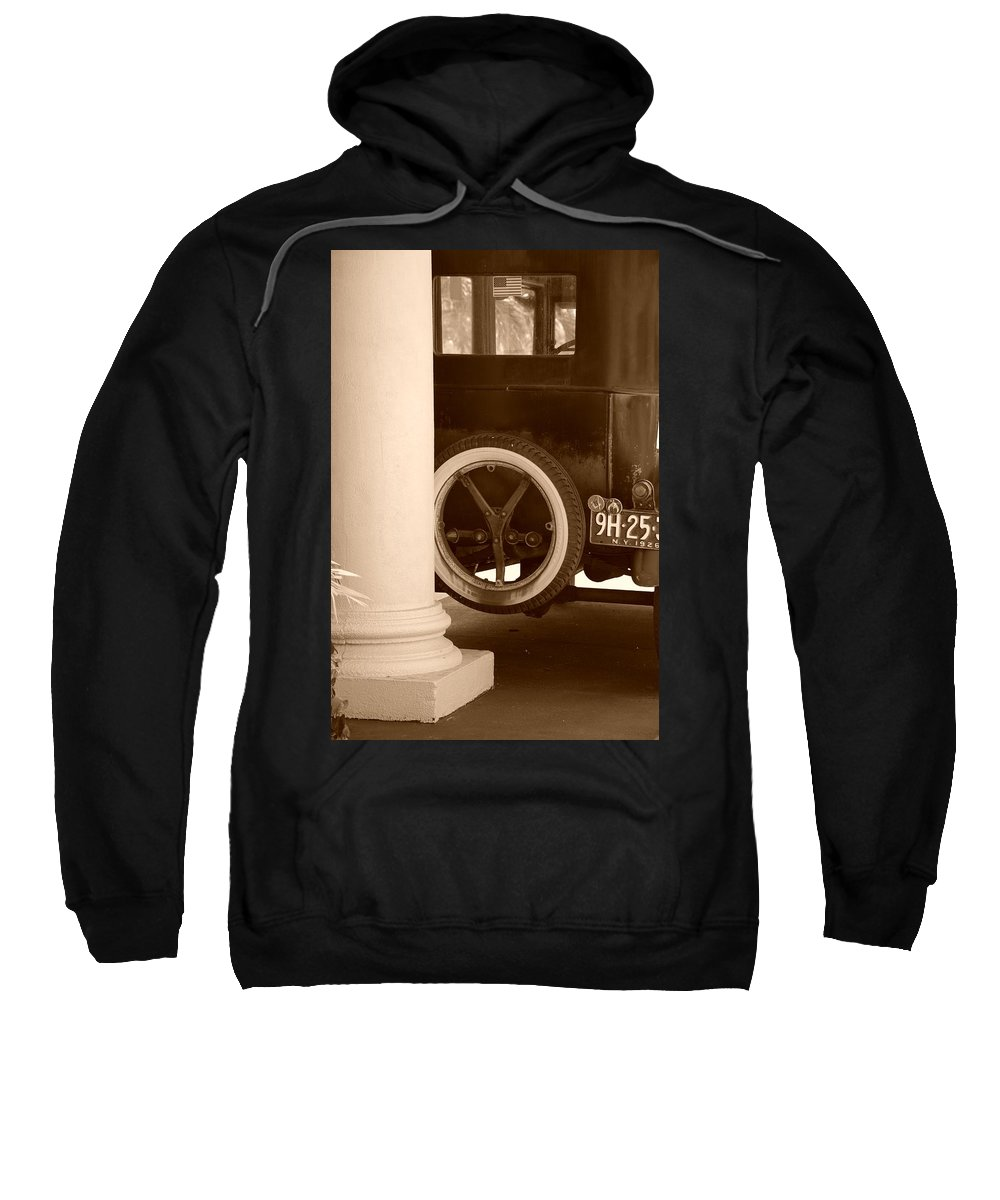 Sepia Sweatshirt featuring the photograph 1926 Model T Ford by Rob Hans