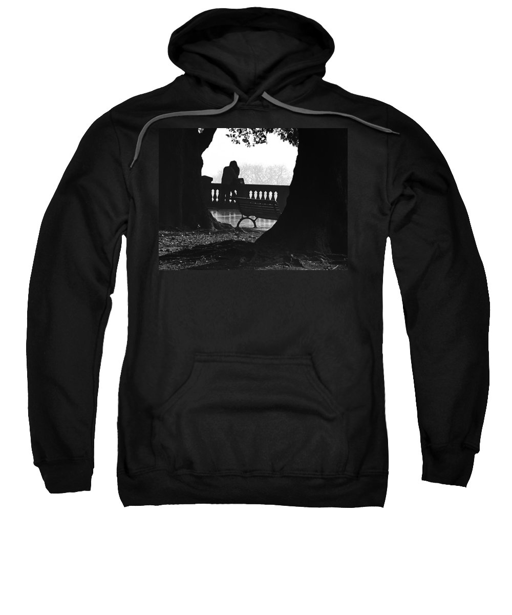 Buenos Aires Sweatshirt featuring the photograph A Kiss Is A Kiss by Osvaldo Hamer