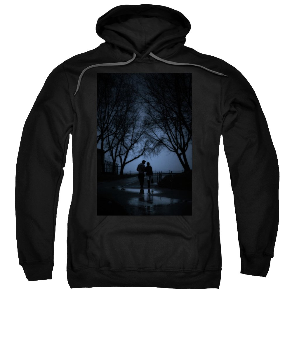 Toronto Sweatshirt featuring the photograph A Moment by Lisa Knechtel