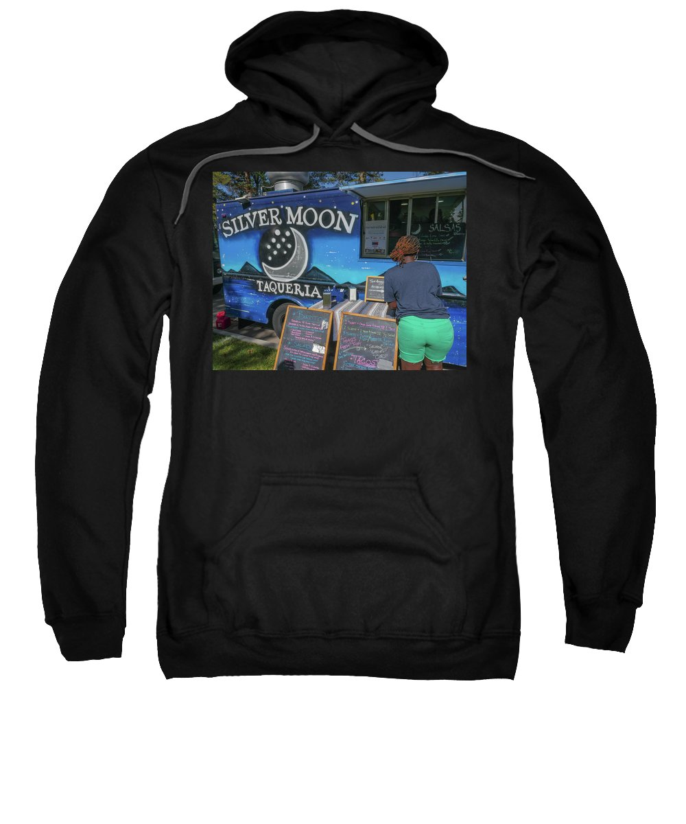 Food Sweatshirt featuring the photograph A Nice Food Truck by Billy Joe