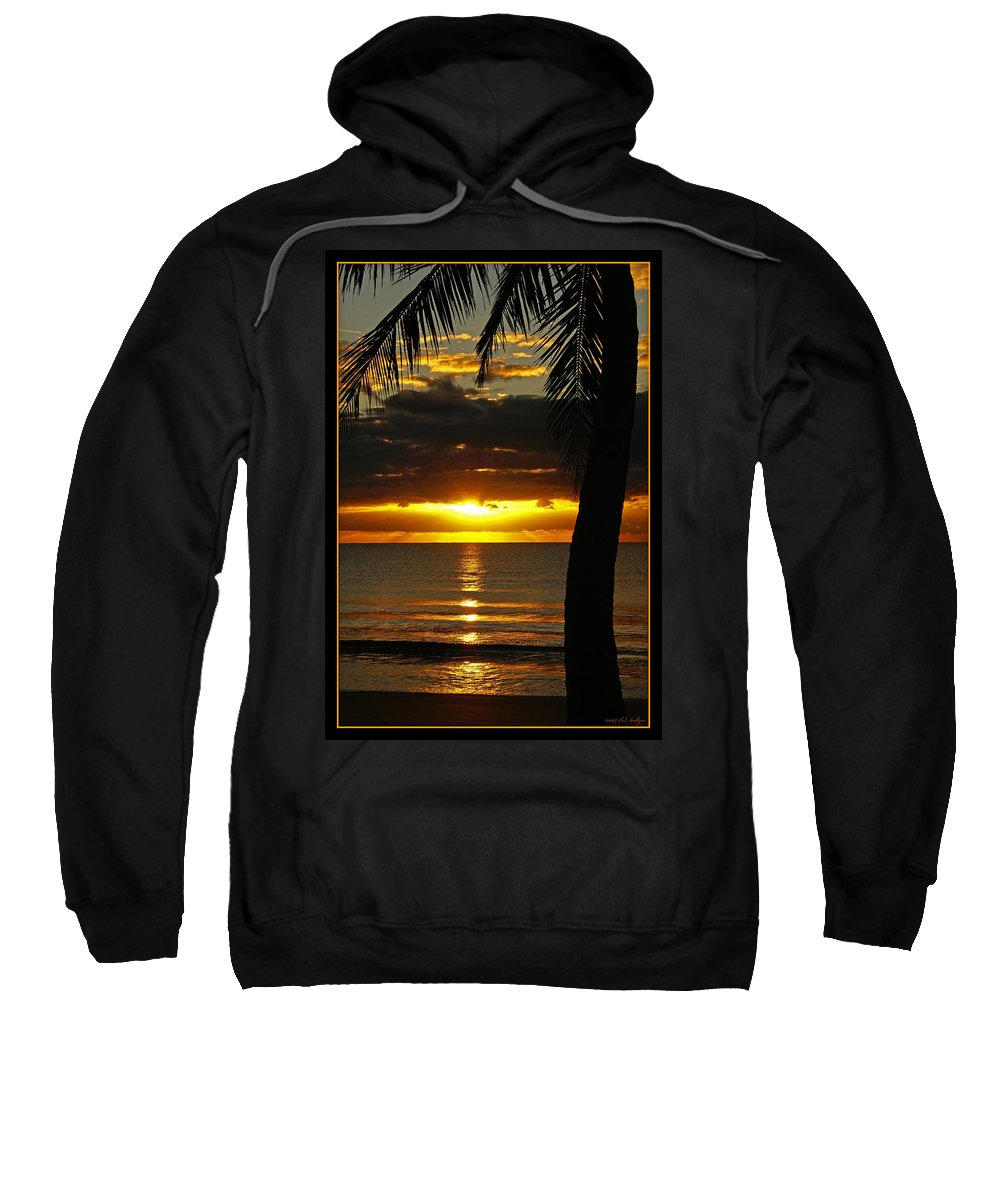 Landscape Sweatshirt featuring the photograph A Touch Of Paradise by Holly Kempe