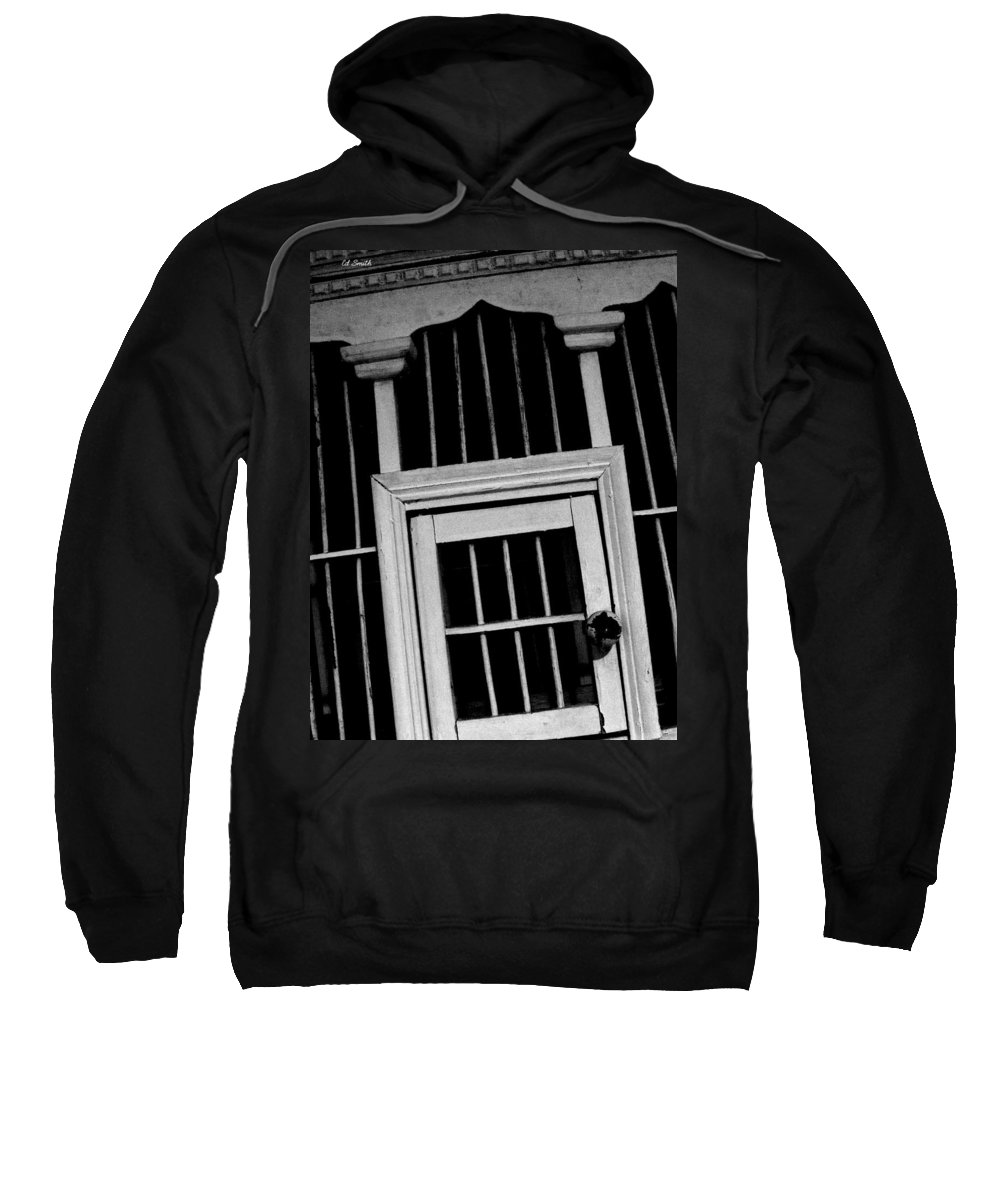 A Trip To The Big House Sweatshirt featuring the photograph A Trip To The Big House by Ed Smith