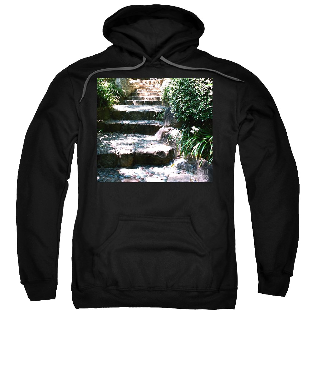 Stairs Sweatshirt featuring the photograph A Way Out by Dean Triolo